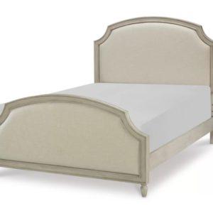Детская кровать для девочки №1 из массива дуба ясеня