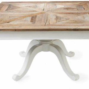 Квадратный обеденный стол из массива №1-ВТ