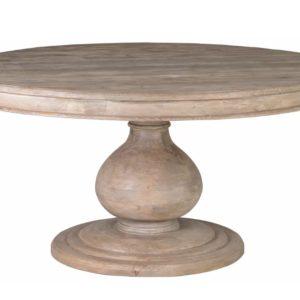 Круглый обеденный стол из массива №11-ВТ