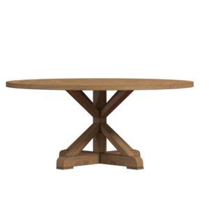 Круглый обеденный стол из массива №10-ВТ