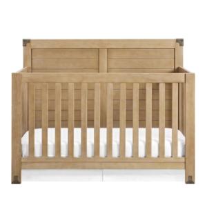 Растущая детская кровать №3 из массива дуба ясеня