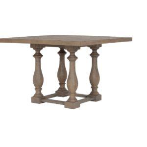 Квадратный обеденный стол из массива №2-ВТ
