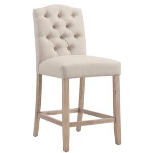 Дизайнерский барный стул №13 из массива