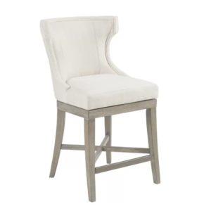 Дизайнерский барный стул №6 из массива